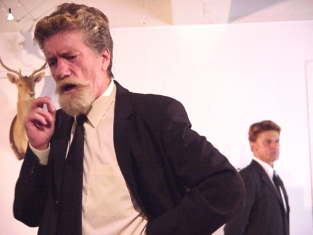 CÂMARA ARDENTE (The Hothouse) de Harold Pinter